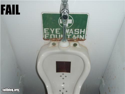 bathrooms eye wash station failboat g rated gross health safety urinals - 3843755264