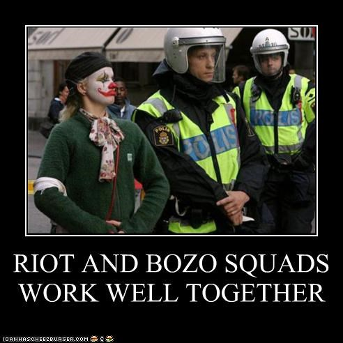 RIOT AND BOZO SQUADS WORK WELL TOGETHER