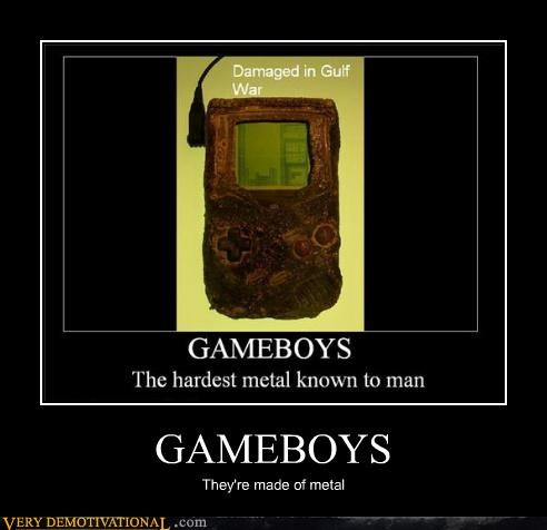 damaged,gameboys,gulf war,jk,metal,video game