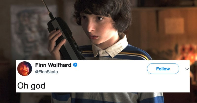 People on Twitter are trolling this Stranger Things star after he accidentally drinks from a bidet, instead of a water fountain.