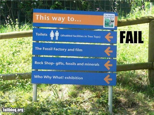 failboat g rated handicap restrooms signs - 3846707712