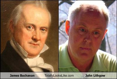james buchanan,john lithgow