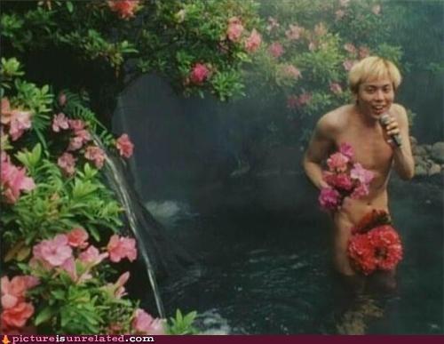 au natural flowers guy sing wtf - 3848093440
