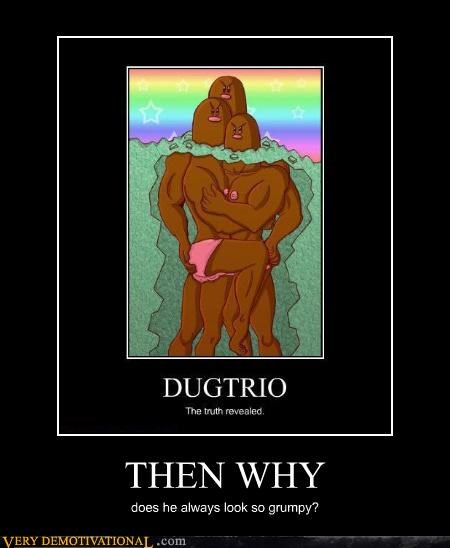 Dugrio,Pokémon,questions,Rule 34,Terrifying,truth