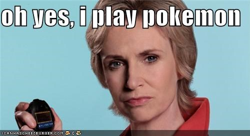celebrity-pictures-jane-lynch-pokemon,glee,Jane Lynch,ROFlash,saturday night live