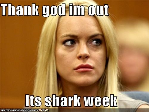 celebrity-pictures-lindsay-lohan-shark-week,Getting off scott free,jail,Linsday Lohan,Marsha Revel,max,ROFlash