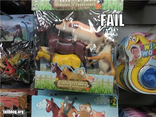 failboat farm animals stacked Things That Are Doing It toys - 3849448704