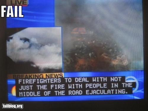 captions,closed captions,failboat,fires,news,television