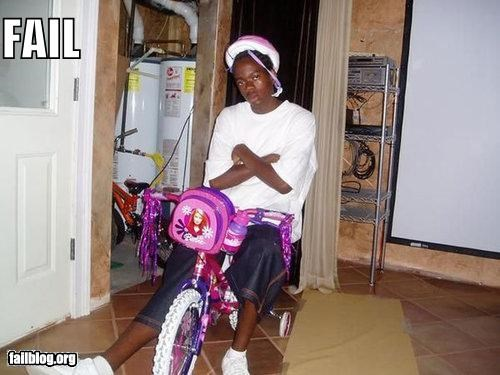 Barbie bikes failboat g rated looking tough pink tough - 3849655296