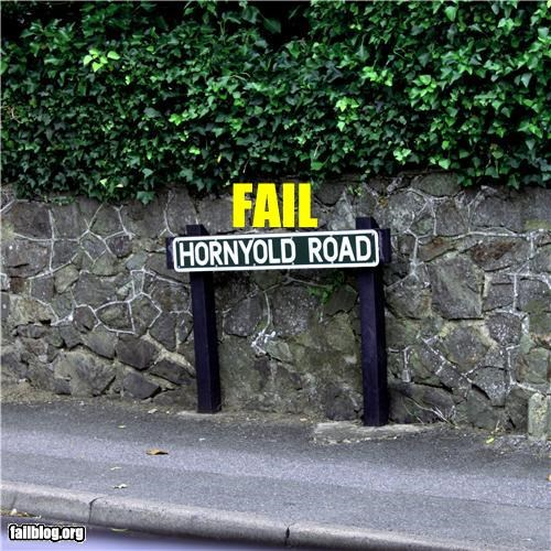 failboat horny old pervy street road signs street name - 3849705472