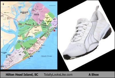 hilton head island,shoe