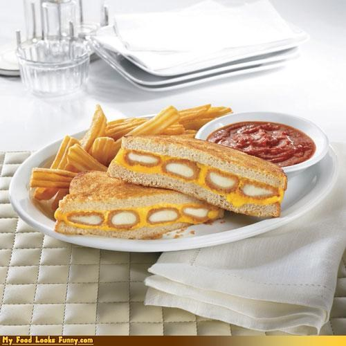cheese dennys fried cheese grilled cheese sandwich - 3850249728