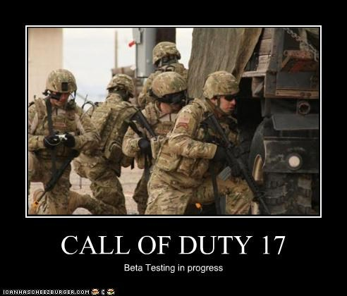 CALL OF DUTY 17 Beta Testing in progress