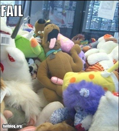 Scooby-Doo Fail