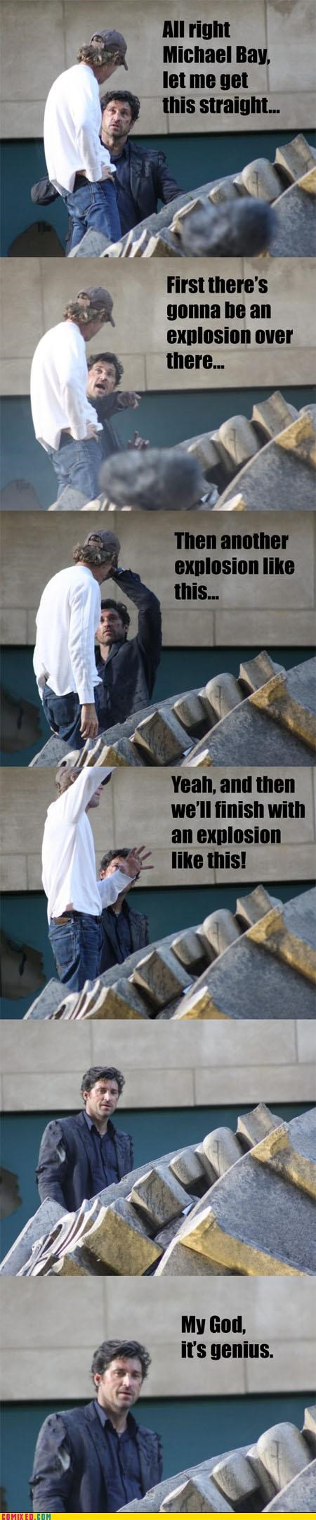 awesome director explosions From the Movies idiots Michael Bay movies - 3853889024