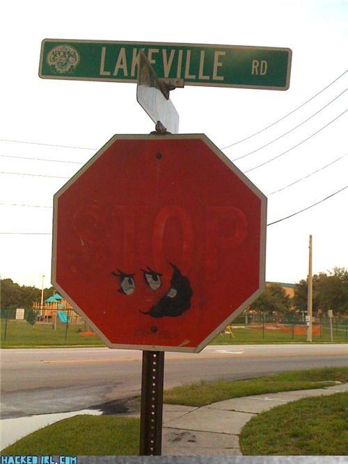 pop culture stop sign - 3854310144
