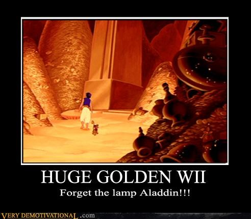 aladdin awesome cartoons disney gold hilarious Videogames wii - 3854797824