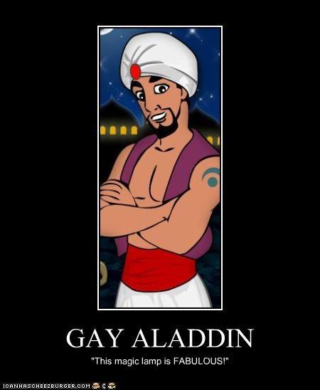 Алладин гей мультик