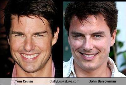 Image result for john barrowman looks like tom cruise
