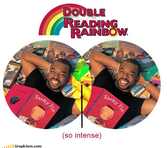 childhood,double rainbow,levar burton,reading rainbow,venn diagram