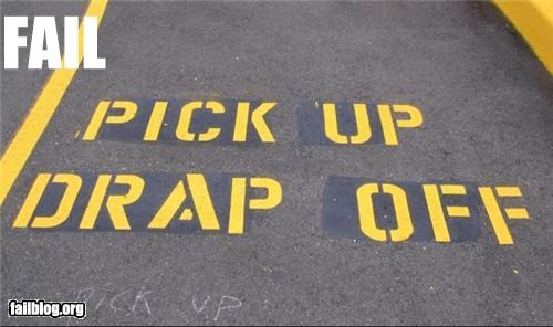 failboat g rated paint parking spot spelling - 3856998656