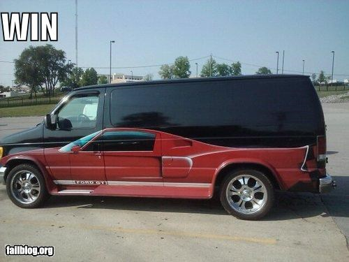 awesome cars failboat paint job transportation win - 3857438464