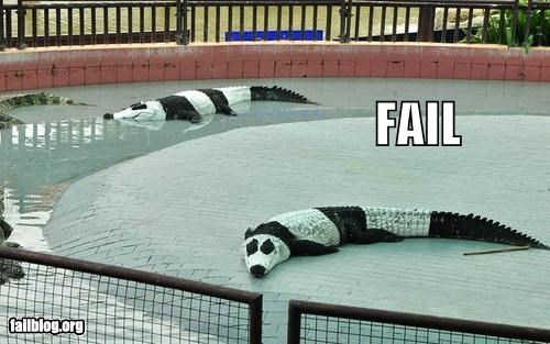 alligators animals failboat g rated hybrids paint panda - 3857439488