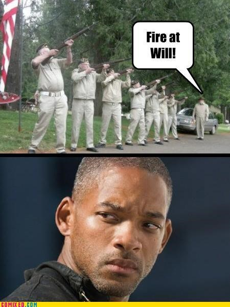 celebutard,guns,independence day,puns,shooting-that-green-st-at-me,will smith
