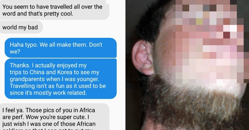 Creepy Guy Loses All Sense of Reality After Girl Rejects Him