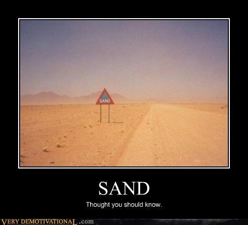 sign wtf desert sand - 3857933568