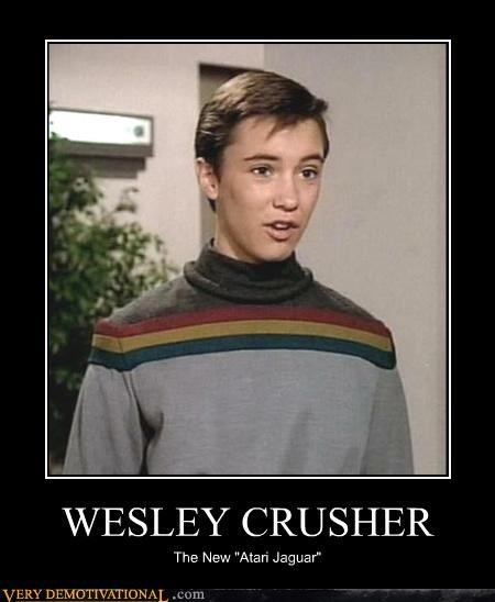 wesley crusher shirt atari Star Trek