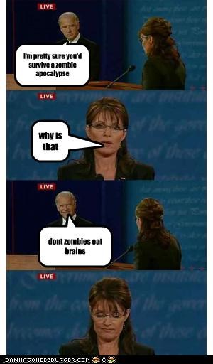 comixed debate funny joe biden Sarah Palin - 3859353088