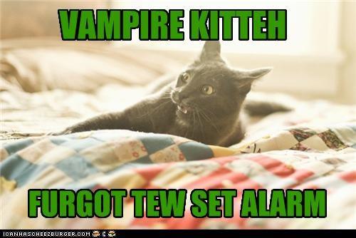 VAMPIRE KITTEH FURGOT TEW SET ALARM
