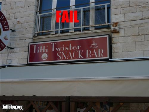 bar,business name,failboat,innuendo,restaurant