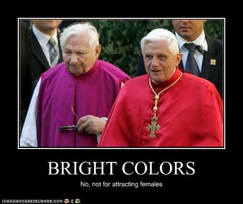 demotivational funny lolz Pope Benedict XVI religion - 3862480384