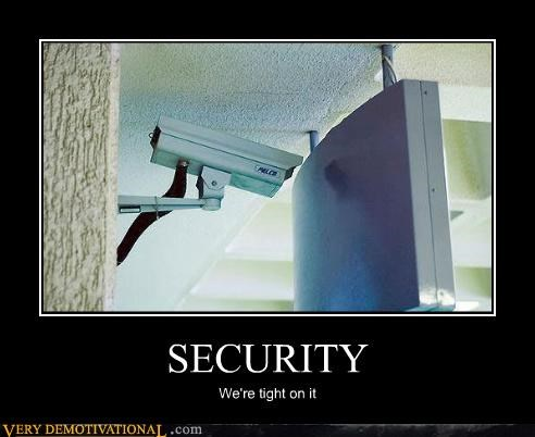 camera CCTV FAIL idiots security smart move technology