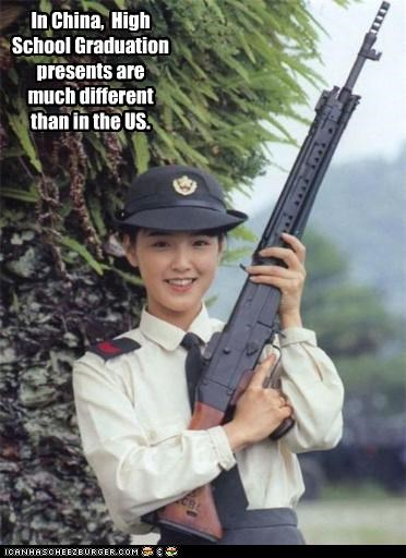 funny gun lady lolz sexy weapon - 3862830848