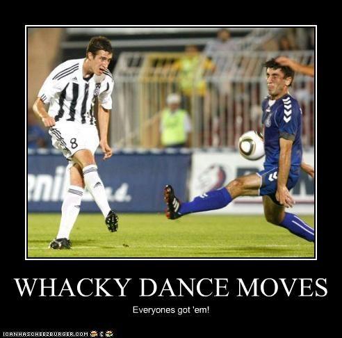 WHACKY DANCE MOVES Everyones got 'em!