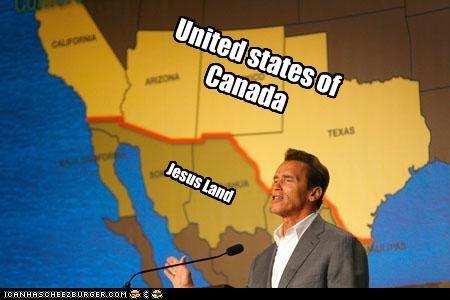 Jesus Land United states of Canada