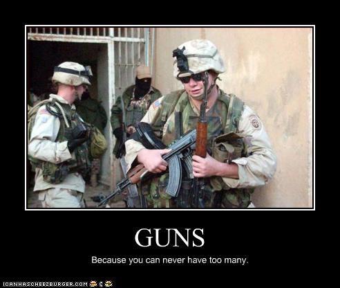 demotivational funny guns lolz soldier - 3865993216