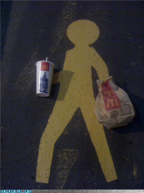 crossing,McDonald's