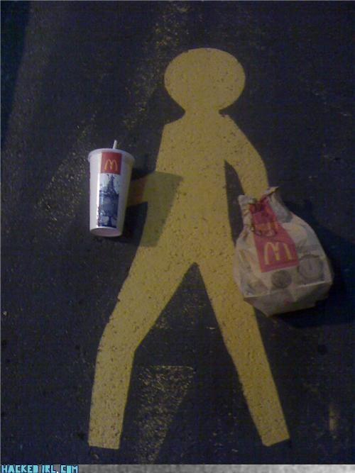 crossing McDonald's - 3866023680