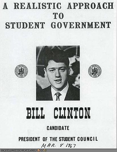 bill clinton campaign flashback funny news young