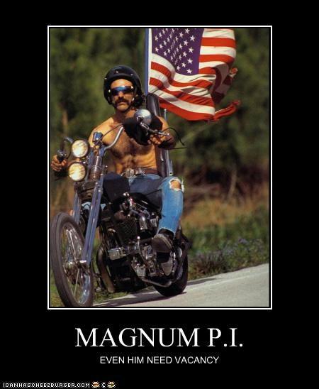 MAGNUM P.I. EVEN HIM NEED VACANCY
