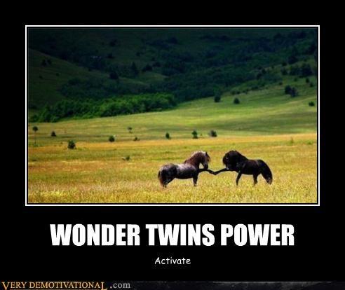 WONDER TWINS POWER Activate