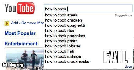 Autocomplete Me,drugs,failboat,How To,search,youtube