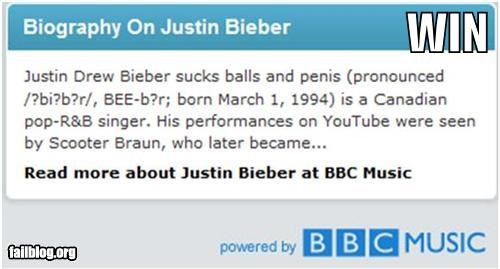 Awkward bbc biography failboat justin bieber website - 3870383360
