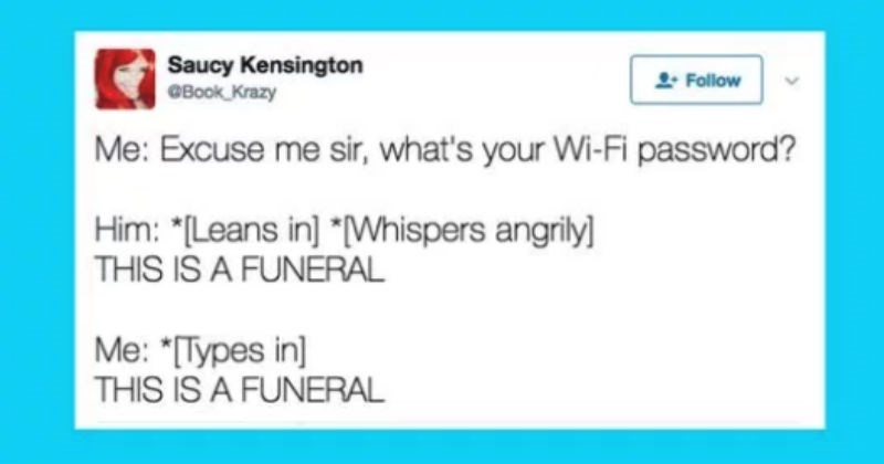 Dark humored cringe tweets that would make parents uncomfortable.