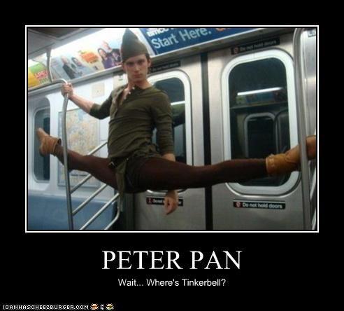 PETER PAN Wait... Where's Tinkerbell?