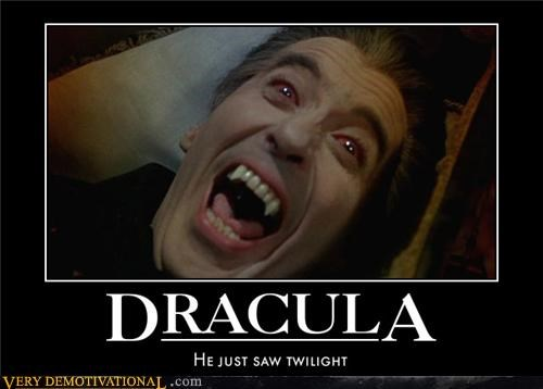 Christopher Lee classic dracula Hall of Fame horror movies Terrifying terror twilight vampires - 3872979968